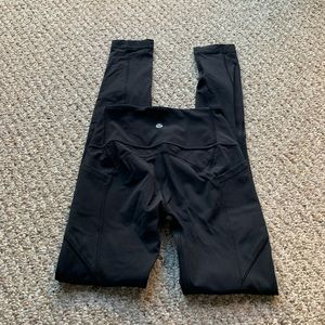Lululemon all the right places tights s 2